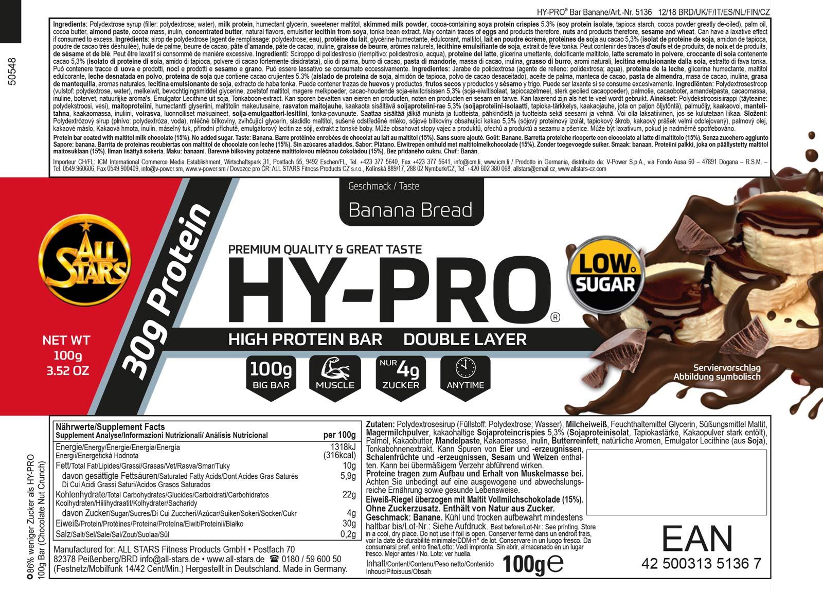 HY-PRO-100-Bar_Banana-Bread